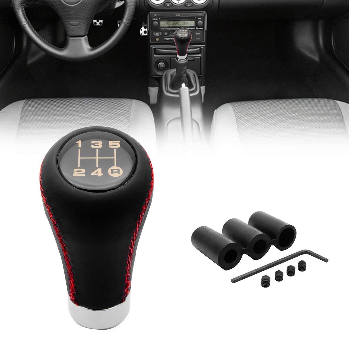 MASO Car 6 Speed Gear Shift Knob Carbon Fiber for BMW M sport E36 E46 E90 E91 E92 E93 E61