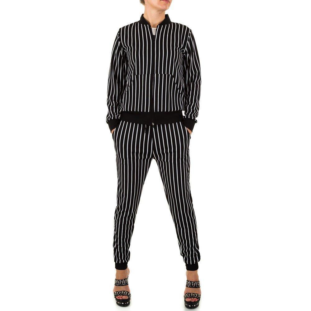 Ital-Design Freizeit Jogging Anzug Für Damen