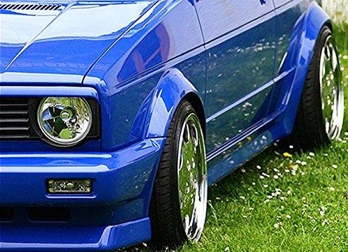(Grill Spoiler Euro Headlight Hood Trim Eyelid Eyebrow for VW Golf Rabbit MK1 Cabrio)