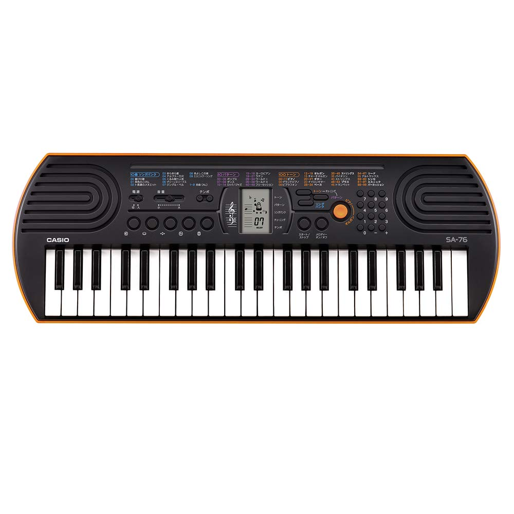 Casio SA76 44 Mini Sized Keyboard For Kids