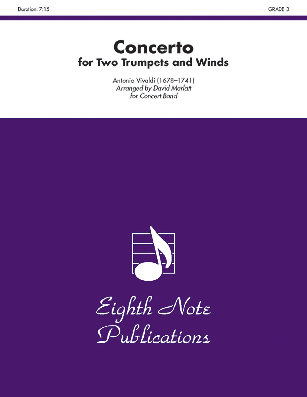 Concerto for Two Trumpets and Winds (Conductor Score & Parts) (Eighth Note Publications) ebook
