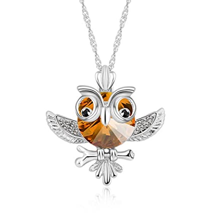Amazon owl jewelry beautiful crystal vintage owl pendants owl jewelry beautiful crystal vintage owl pendants necklace owl jewelry aloadofball Image collections