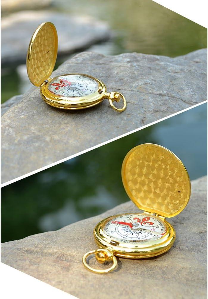 Petit Mini Boussole de Poche Boussole Maniable compact avec notation pour randonnée