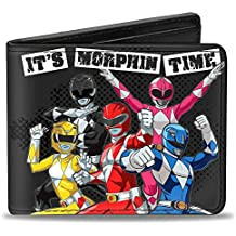 Buckle Down Kid's Power Rangers Bifold Wallet