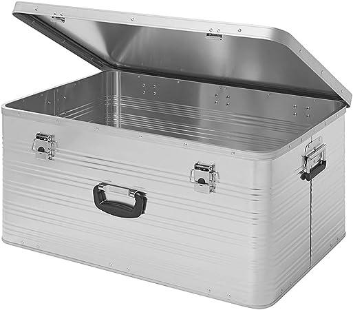 APT Caja de Aluminio 137L, Caja de Transporte de Aluminio, Caja de Herramientas, Caja de Aluminio, maletín de Metal, ohne Zubehör: Amazon.es: Hogar