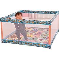 Corralito Yarda Grande para bebés, niños pequeños, niños pequeños, Patio de Juegos, Azul
