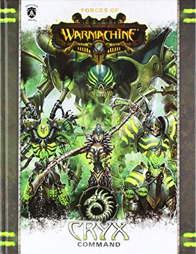 Privateer Press Forces of Warmachine: Cryx Command HC (Book) Miniature Game PIP1089
