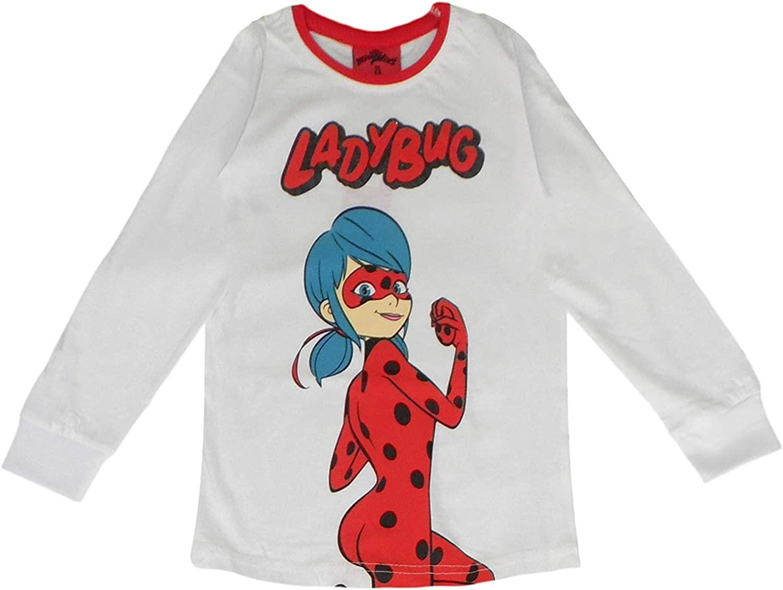 Miraculous Tales of Ladybug And Cat Noir Girls Long Pigiama Set Cotone
