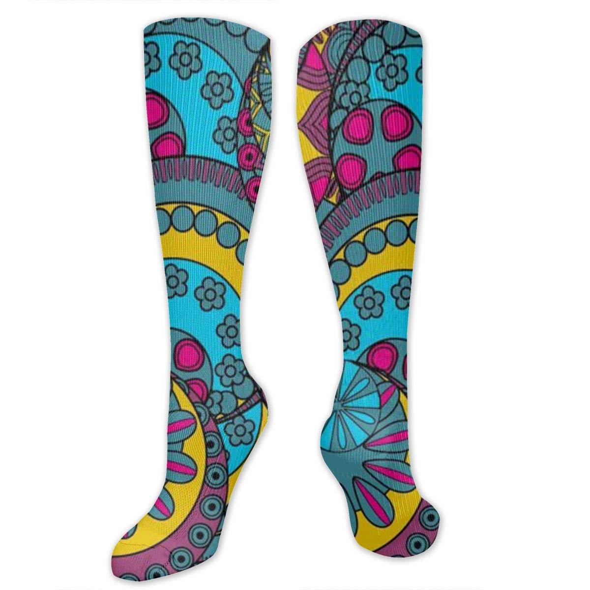 Men Multicolored Pattern Fashionable Fun Crew Cotton Socks Chanwazibibiliu Classic Decorative Pattern Mens Colorful Dress Socks Funky