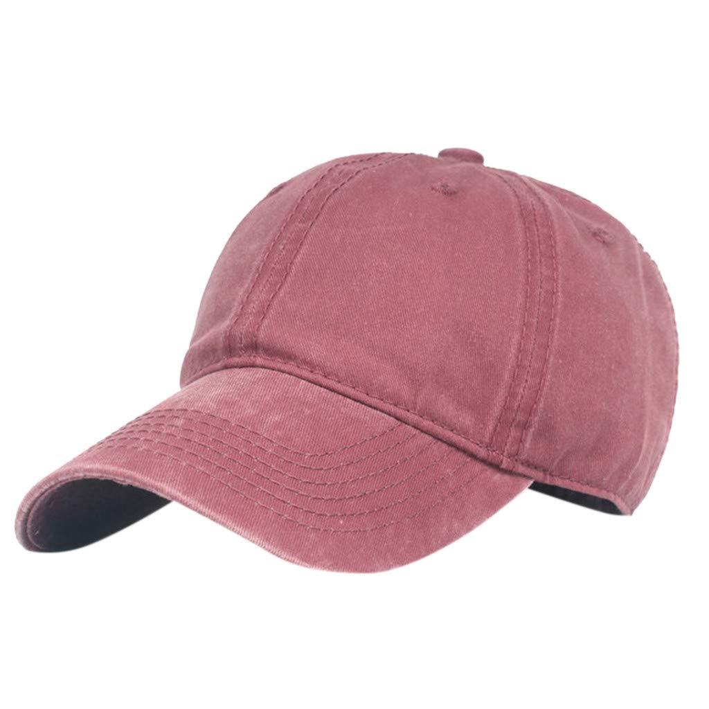 6ed4298664af81 Kappen VRTUR Sommer Basecap Vintage Bio-Baumwolle Snapback Caps Basic Sport  Kappen Sonnenschutz UV-Schutz Sun Hut ...