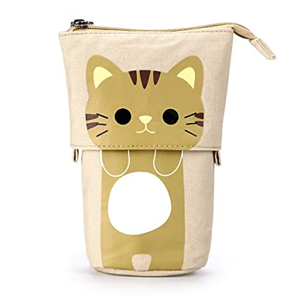 Coin Purses Coin Purse For Kids Children Fashion Cute Animal Cat Prints Pouch Pen Holder Pencil Bags Makeup Case School Supplies Change Bags Luggage & Bags