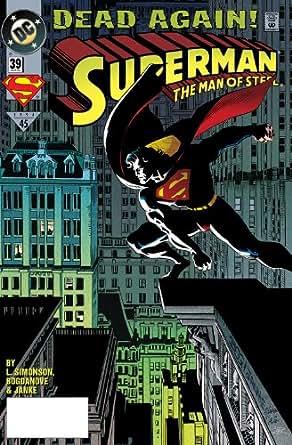 Superman the man of steel 1991 2003 39 for Bureau 39 superman