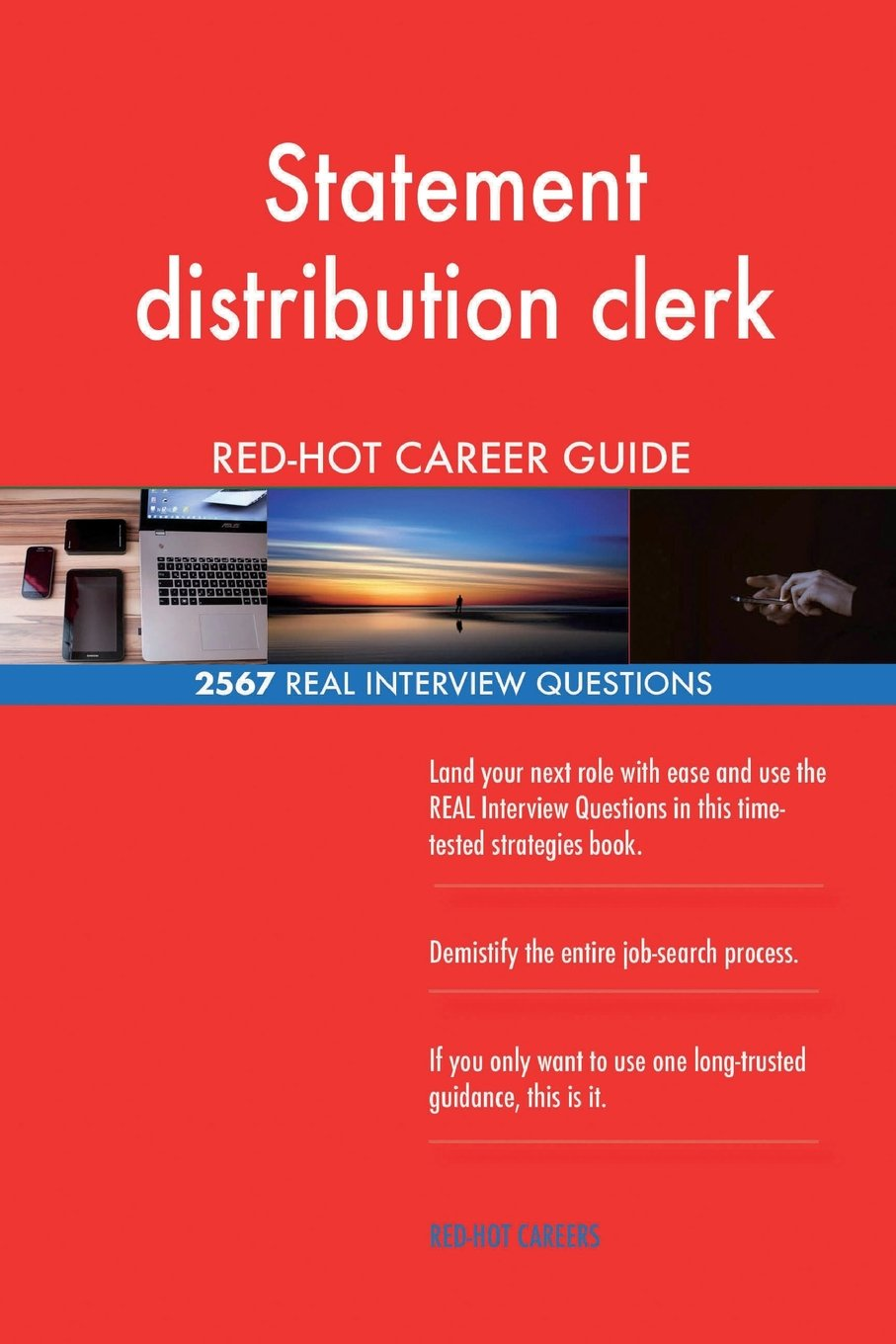 Statement distribution clerk RED-HOT Career Guide; 2567 REAL Interview Questions pdf