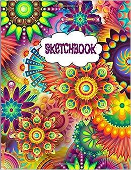 Amazoncom Sketchbook Inspirational Large Fancy 80s