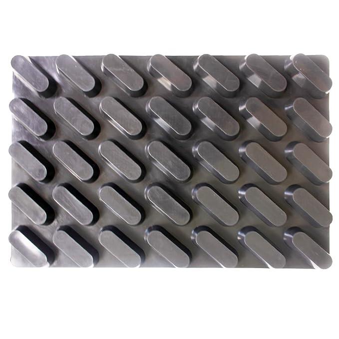 lemarle 35-cavity Energy Bar molde de silicona antiadherente ...