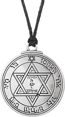 The Second Pentacle Of Mars # Key of Solomon # Necklace