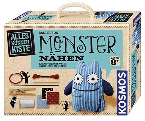 Kosmos 604080 - AllesKönnerKiste, Monster nähen