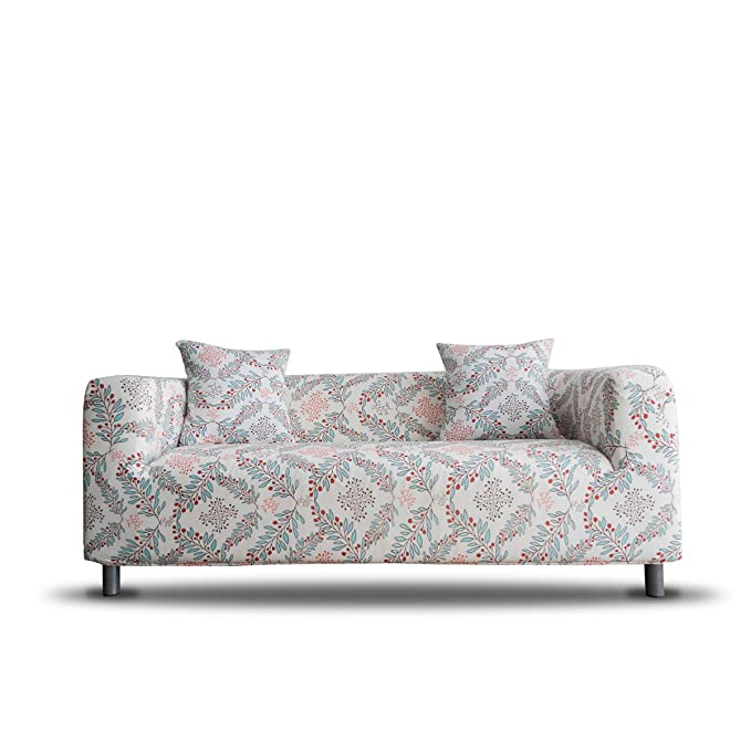 ENZER Funda para sofá de Tela elástica con diseño de Flores ...