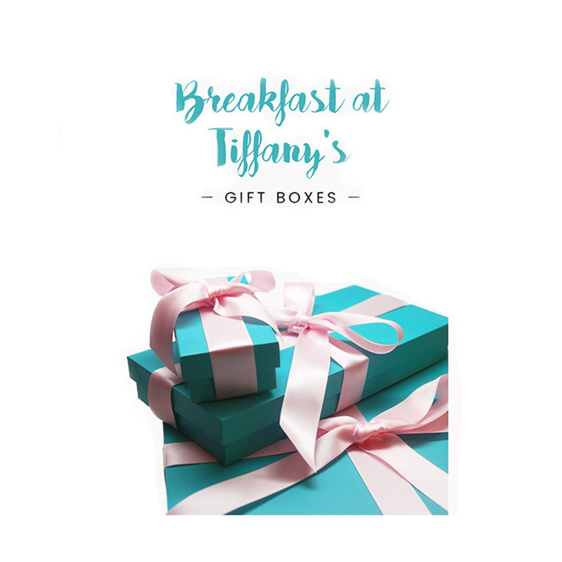 Amazon.com: Gift Boxes inspired by Breakfast At Tiffany\'s, Blue ...