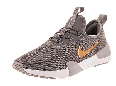 31422a6b2cbb9 Nike Kids Ashin Modern (GS) Gunsmoke/Metallic Gold Running Shoe 4 Kids US