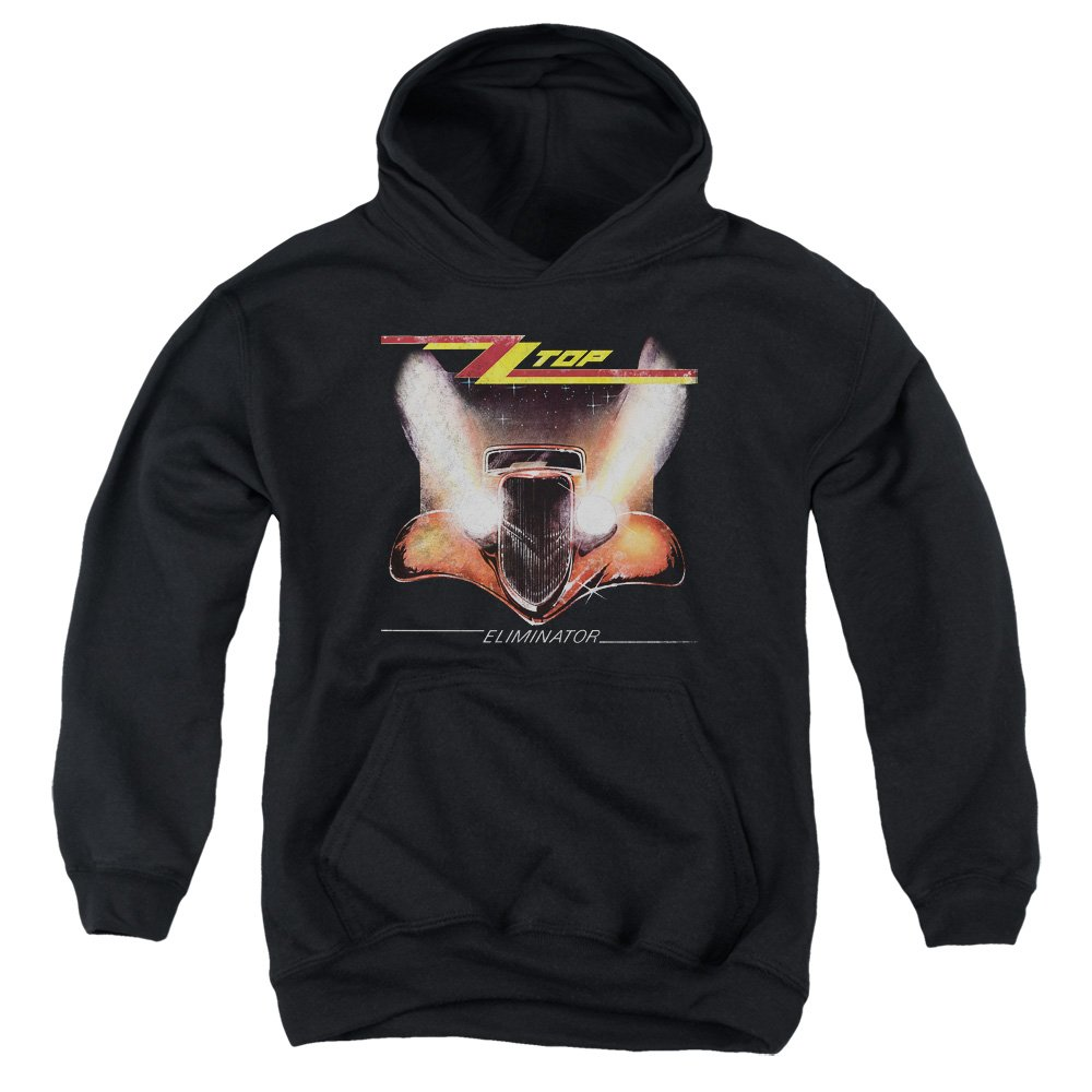 Zz Top Youth Eliminator Cover Pullover Hoodie
