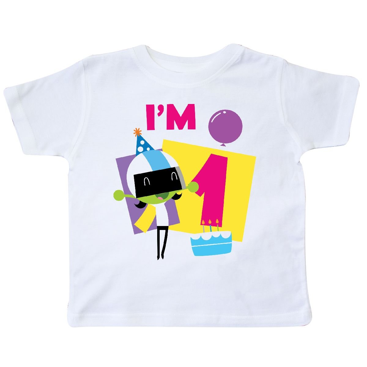 inktastic Im 1 with Dee and Balloons Toddler T-Shirt PBS Kids