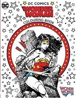 wonder woman colouring book - Wonder Woman Coloring Book