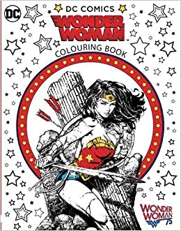 Wonder Woman Colouring Book: Warner Brothers: 9781783707270: Amazon ...