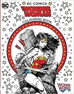 Wonder Woman Colouring Book: Amazon.co.uk: Warner Brothers ...