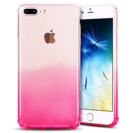 Anfire Funda iPhone 7/8 Plus Silicona Carcasa Transparente ...