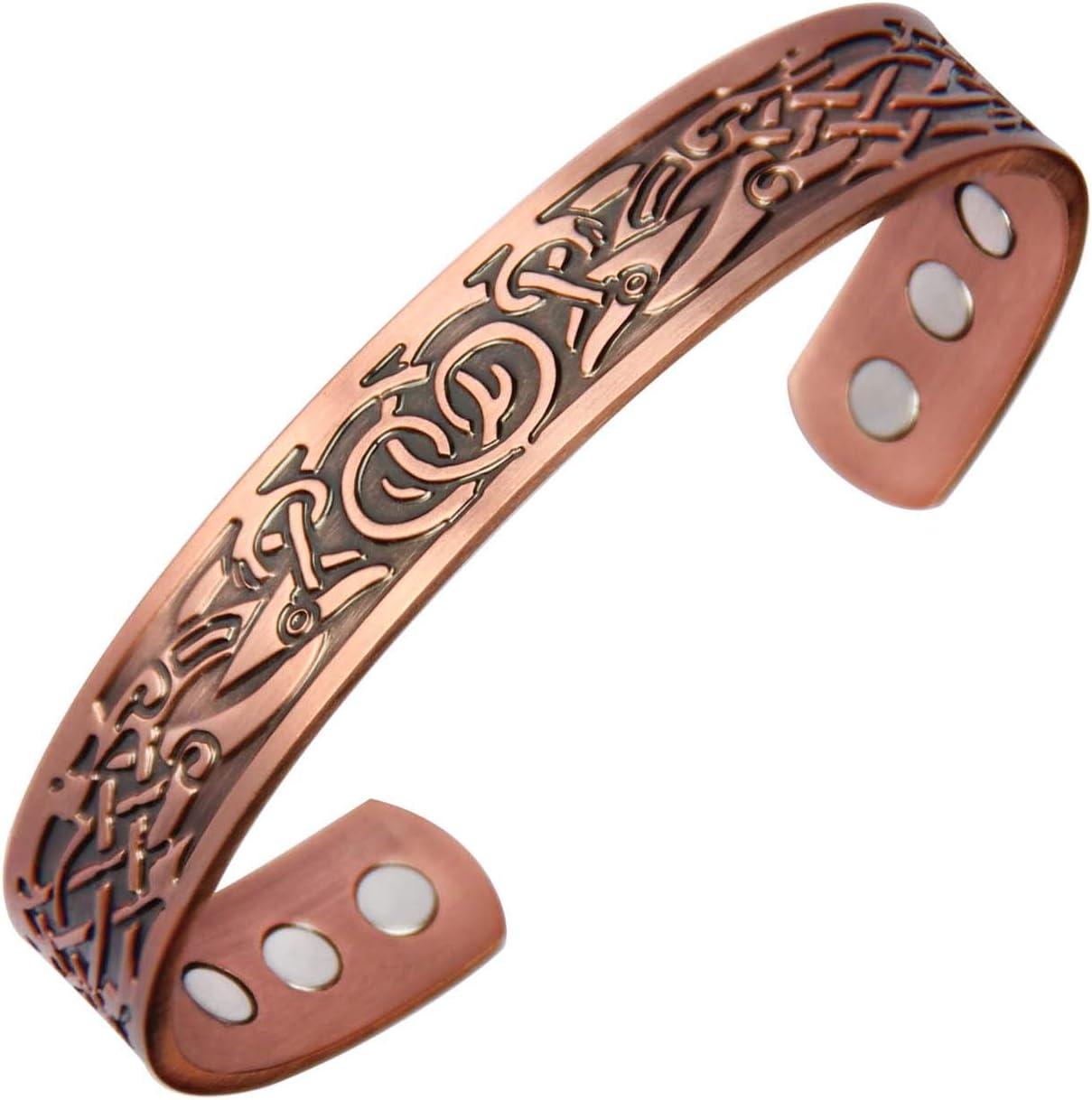 Vintage Simple Copper Band Bracelet
