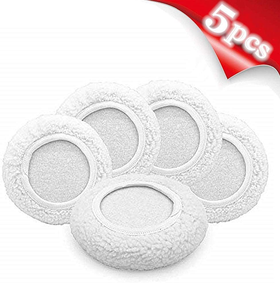 5-6 AIVS Wool Buffing Polishing Pads Bonnets Waxer Pads Sanding On Car Buffer bonnets Polisher,5 pieces