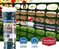 Plastic Fence Netting for Debris, Safety, Boundary and Snow Fencing - Green