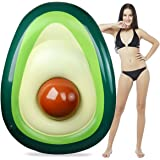 Avocado Pool Float, Aitey Giant Inflatable Avocado floatie with Ball Water Fun Summer Swimming Pool Raft Lounge Beach…