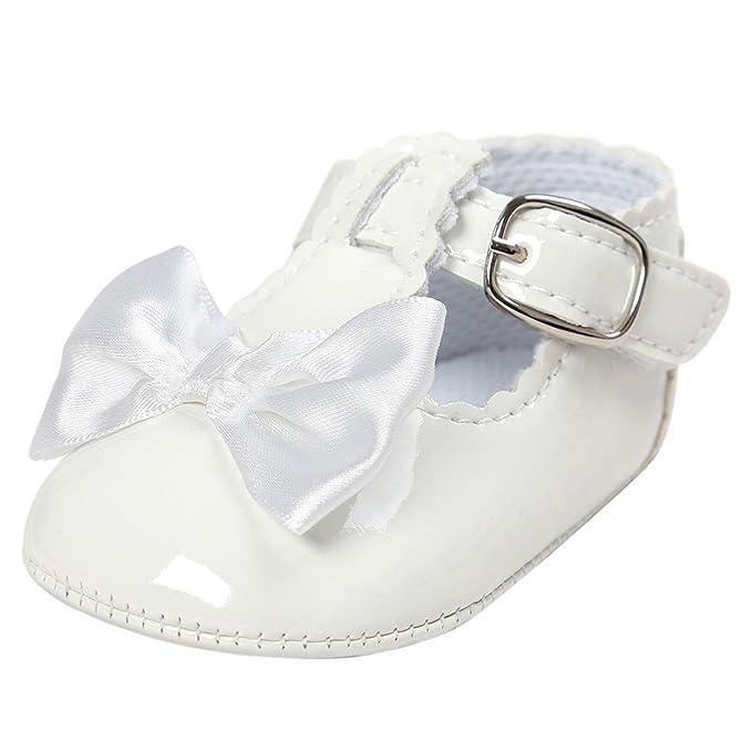 Zapatos Bebe niña LANSKIRT Zapato niña Princesa Patucos Fiesta para ...