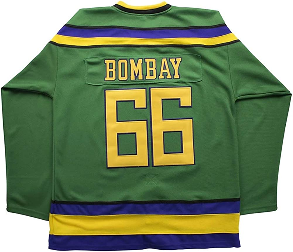 oldtimetown Mighty Ducks Movie Hockey Jersey 90S Hip Hop Adults Clothing for Party Stitched Letters and Numbers