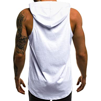 nouveau sommet vaste sélection meilleur en ligne Sunnywill Débardeur Homme Printemps et été T-Shirt sans ...
