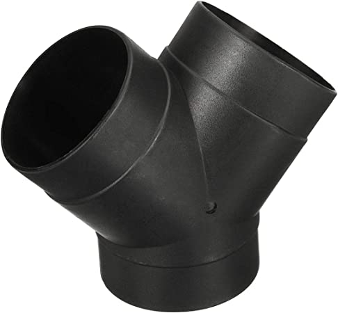 CTCAUTO Pair 75mm Air Pipe Hose Line Heater Vent Outlet with Y Piece Connector for Parking Diesel Heater