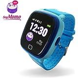 SoyMomo H2O Reloj Inteligente para Niños con GPS y Botón SOS, Móvil para niños con ranura…