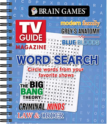 Pdf Entertainment Brain Games - TV Guide Magazine Word Search