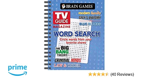 Lot of 2 TV Guide Magazine Word find Word Search Puzzles Books BRAND NEW!