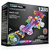 Laser Pegs 12-in-1 Race Car Building Set