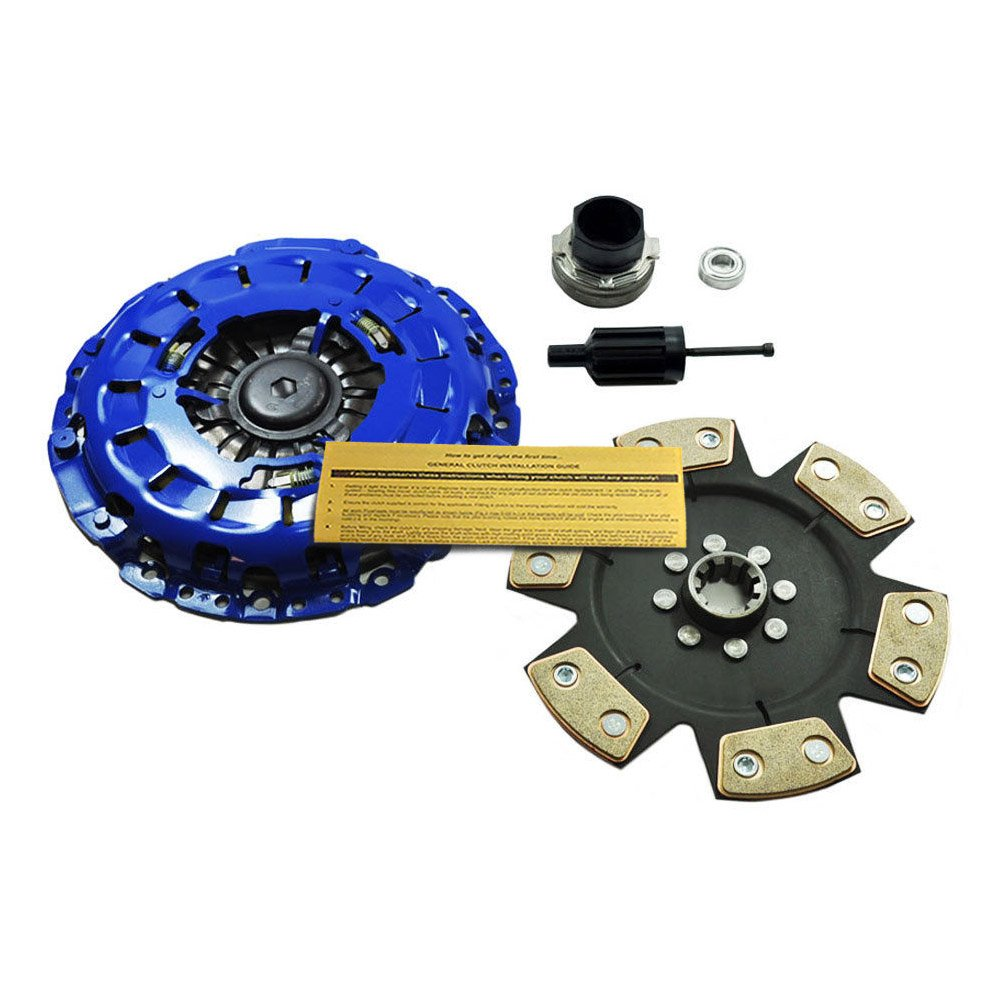 Amazon.com: EFT STAGE 3 CLUTCH KIT 01-06 BMW M3 E46 S54 fits both 6sp MANUAL&SMG TRANSMISSION: Automotive