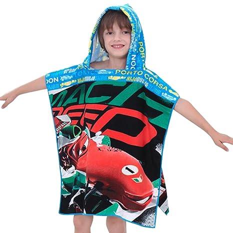 hibote niños toalla de baño con capucha Capa de la toalla de playa del cabo del