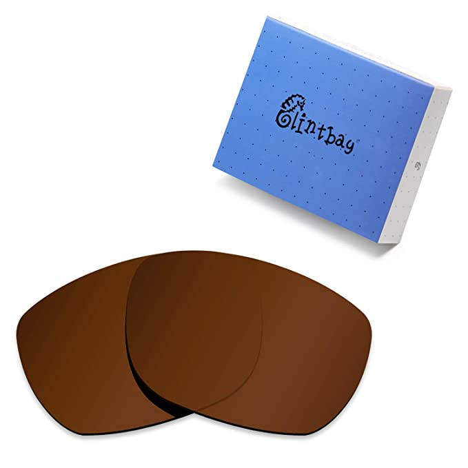 af82218f978 Glintbay 100% Precise-Fit Replacement Sunglass Lenses for Electric  Knoxville XL - Polarized Brown