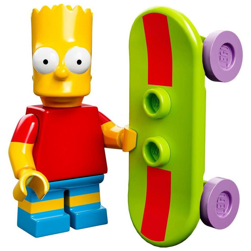 Lego Minifiguras serie 71005 - BART Simpsonhttps://amzn.to/2MguNaY