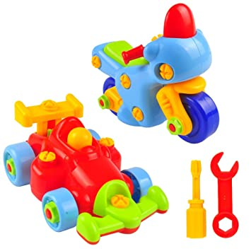 take apart toy car 2 set pull apart toys for kids kit 50 pieces