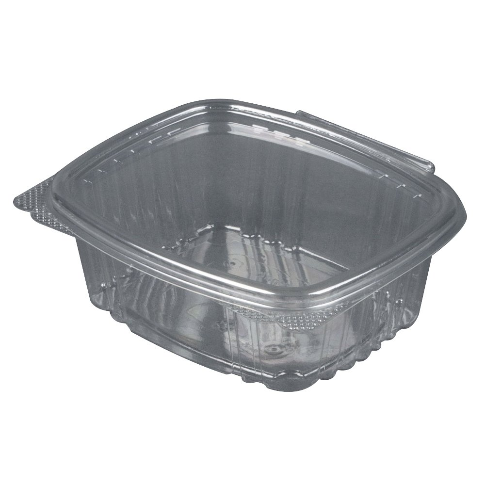 Take Out Food Container Hinged 16 oz Deli- 5 3/8