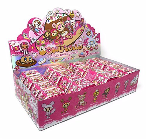 Tokidoki Donutella and Her Sweet Friends Series 2 Collectible Figure Display (Case of ()