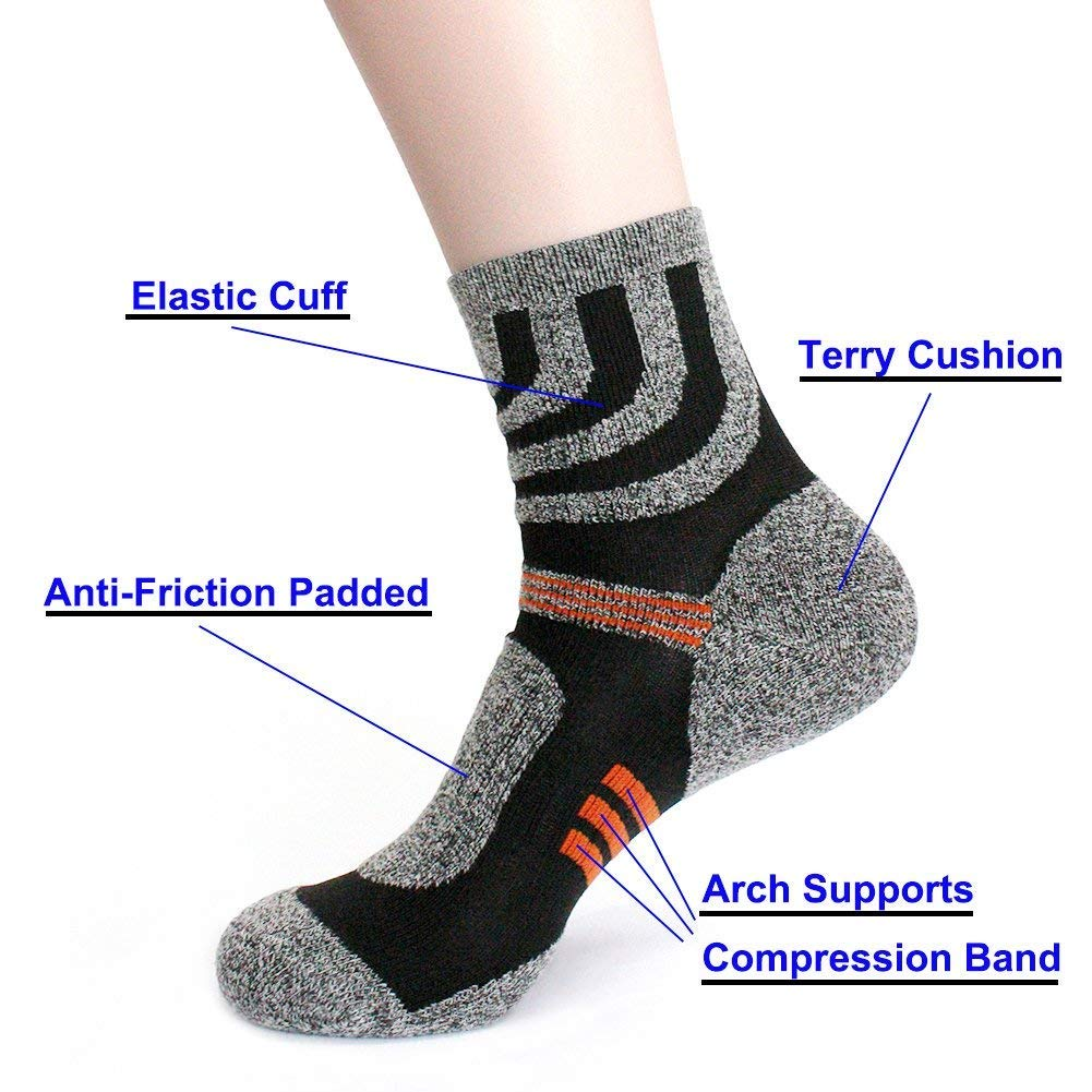90 Points 5 pares de calcetines de invierno para mujer, gruesos, de ...